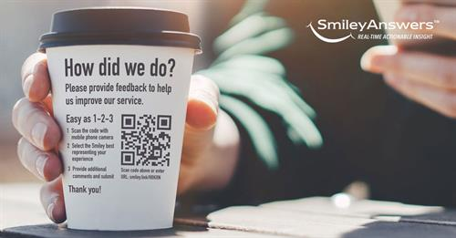 Capture Feedback at your most important Customer Touchpoints - #GoTouchless