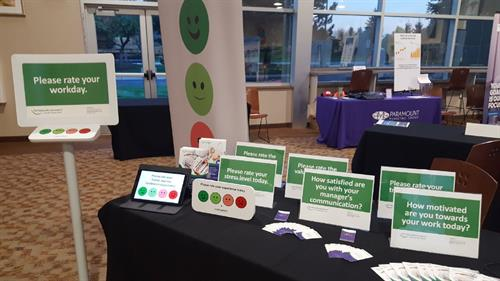 SmileyAnswers at an Auburn Hills Chamber Event