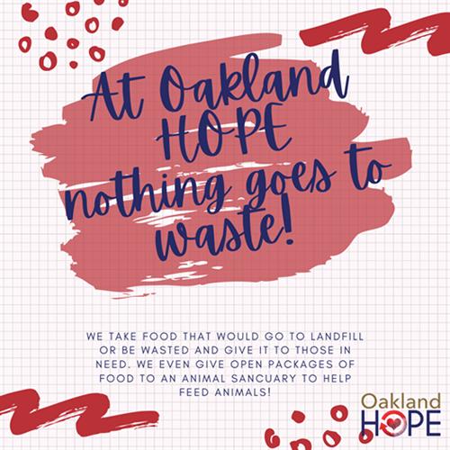 Food Sustainability at Oakland HOPE