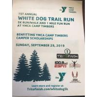 1st White Dog Trail Run at YMCA Camp Timbers
