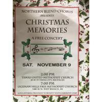 Northern Blend Chorus presents Christmas Memories