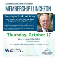 2019 Membership Luncheon Featuring Michael Richey, University of Kentucky