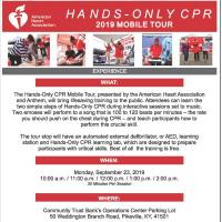 Hands-Only CPR 2019 Mobile Tour - American Heart Association