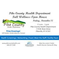 Pike County Health Department Fall Wellness Open House