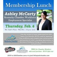 2020 Membership Luncheon: Creating A Recovery-Friendly Workplace