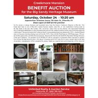 Creekmore Mansion Benefit Auction