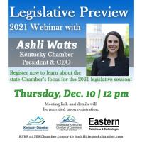 2021 Kentucky Chamber Legislative Preview Webinar