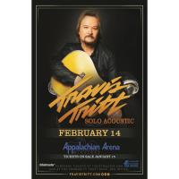 Travis Tritt Solo Acoustic at the Appalachian Wireless Arena