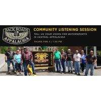 Backroads of Appalachia Community Listening Session