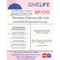 Give Life - A Virtual Auction Benefiting Appalachian Pregnancy Care Center