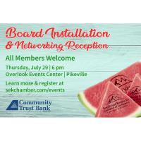 2021 Board Installation & Networking Reception
