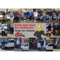 Fast Change gives back to military with free oil changes