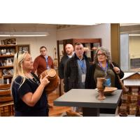 Patton Leadership spends day in Knott County learning about education, art, and industry