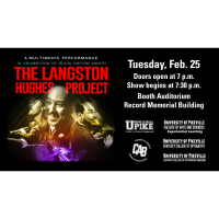 Celebrate African American History Month at UPIKE with The Langston Hughes Project