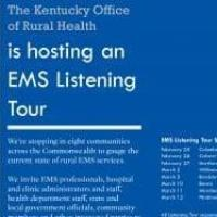 The Kentucky Office of Rural Health to host EMS Listening Tour in Hindman, Ky