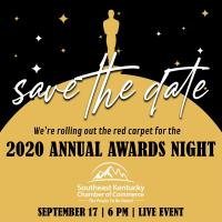 Southeast Kentucky Chamber to host virtual Annual Awards Night on September 17