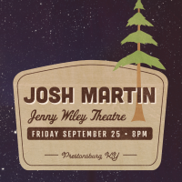 Josh Martin to return home for intimate show