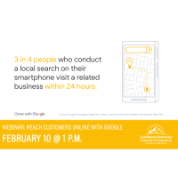 Chamber partners with Google for webinar focused on businesses reaching customers online