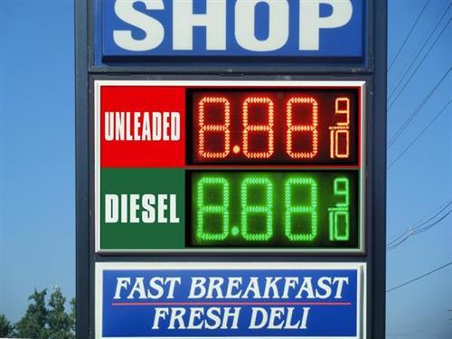 Digital Fuel Sign