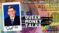 Don't miss Sept 21st Queer Money Talks with Financial Advisor David Treece