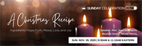 Sunday Celebration: A Christmas Recipe: Hope, Faith, Peace, Love, & Joy