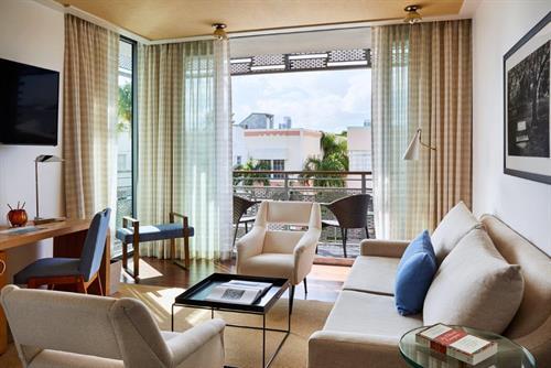 Superior Double Balcony Suite