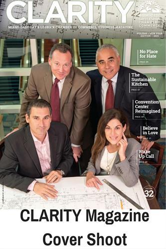 Clarity Magazine Cover