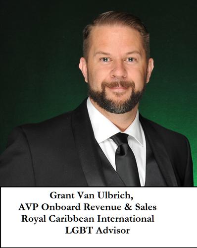 Grant Van Ulbrich, AVP Onboard Revenue & Sales - LGBT Advisor