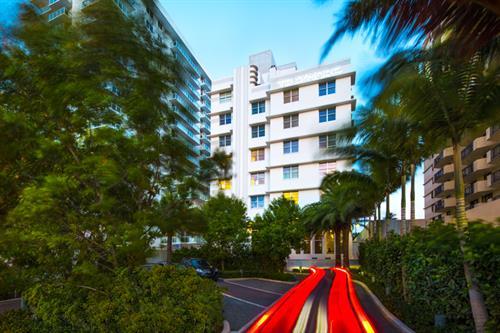 Hotel Building - Front Facade