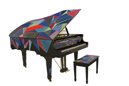 Alejandro Plaza - Essex Grand Piano EGP 183. A collaborative work with Steinway Piano Gallery Miami.