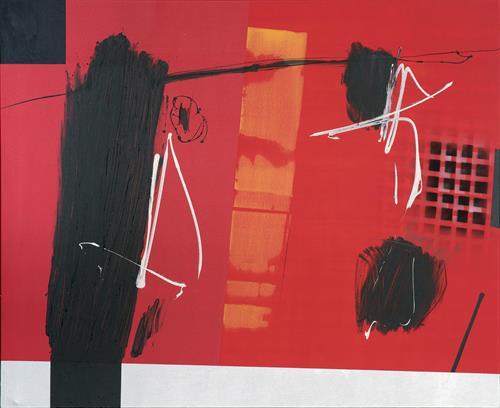 Jose Paez del Nogal - Orange, 2015 - Acrylic on canvas - 60 x 72 in.