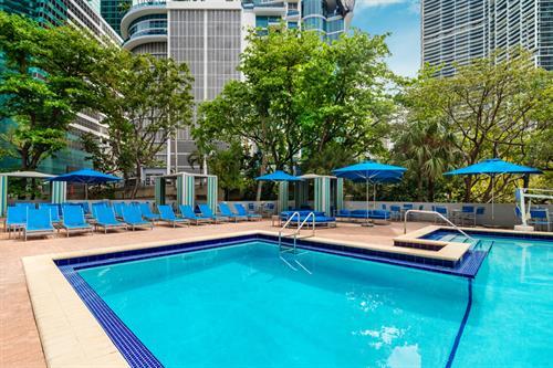 Hyatt Regency Miami pool area