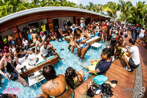 SweetHeat Pool Party