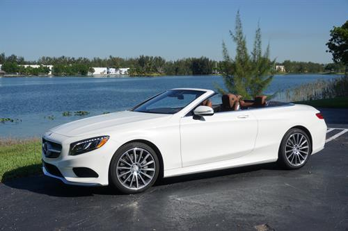 Mercedes-Benz S550 Convertible