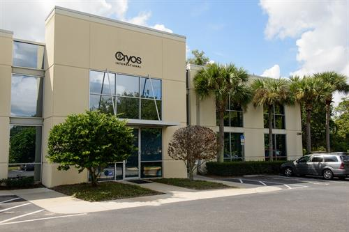 Cryos Orlando, FL office outside view