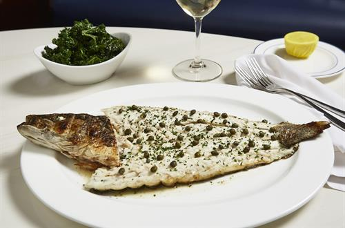 Enjoy our Mediterranean style Whole Fish from around the world!