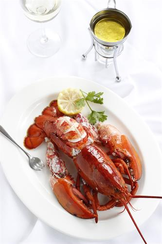 How do you like your lobster? Simply steamed and cracked hits the spot for us...