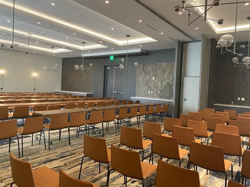 Meeting room. 6,500 sq.ft of meeting space.