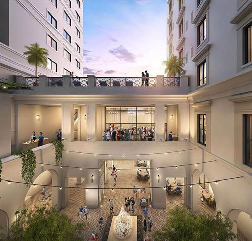 Paseo- Event Plaza- Rendering