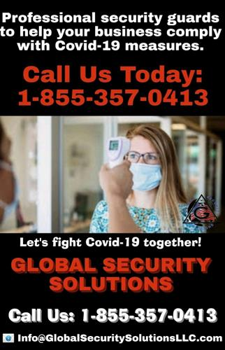 Contact GSS for safety options to help prevent the spread of Covid-19