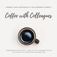"""Chamber """"Coffee with Colleagues:"""" July"""