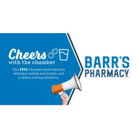 Cheers with the Chamber at Barr Pharmacy!