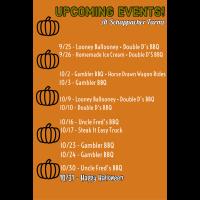 Upcoming Events at Schappacher's Pumpkin Farm!