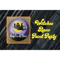 Hocus Pocus theme Paint Party at Tin Cap