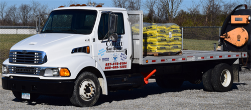 Morton's Salt delivered to your company on this beauty