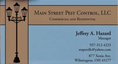 Main Street Pest Control