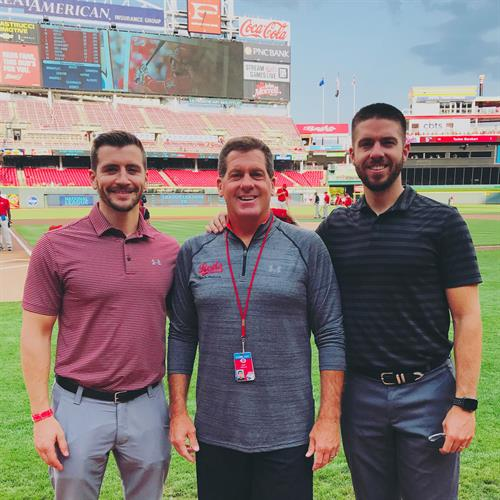 Chiropractic physicians for the Cincinnati Reds