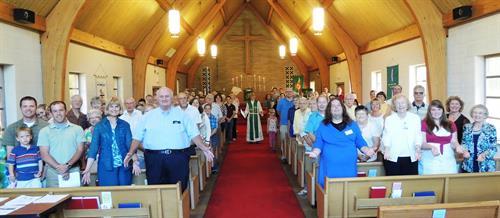 Congregation at Faith Lutheran Church