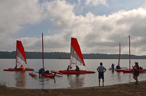 Hobie sailing kayaks