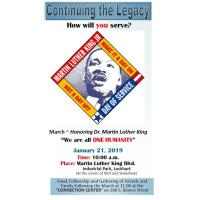 Martin Luther King March & Celebration